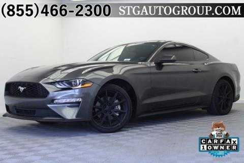 2018 Ford Mustang for sale in Montclair, CA