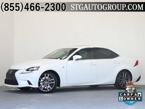 2016 Lexus IS 350 for sale in Montclair, CA