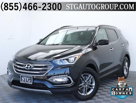 2017 Hyundai Santa Fe Sport for sale in Montclair, CA