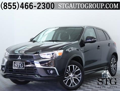 2016 Mitsubishi Outlander Sport for sale in Montclair, CA