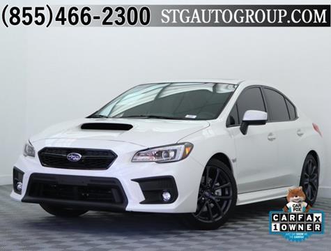 2018 Subaru WRX for sale in Montclair, CA