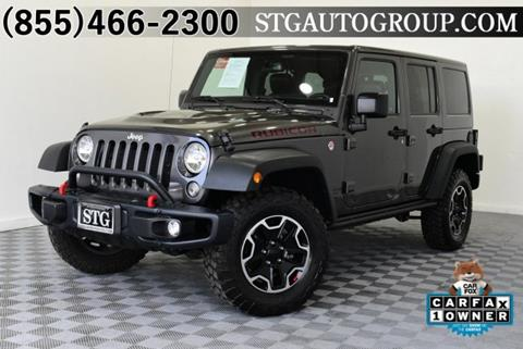 2016 Jeep Wrangler Unlimited for sale in Montclair, CA