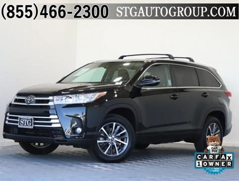 2017 Toyota Highlander for sale in Montclair, CA