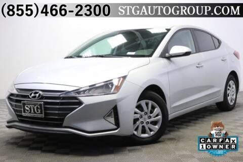 2019 Hyundai Elantra for sale in Montclair, CA