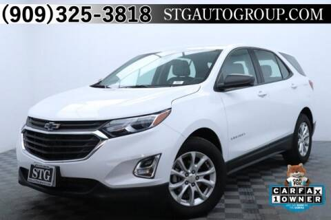 2018 Chevrolet Equinox LS for sale at STG Auto Group in Montclair CA