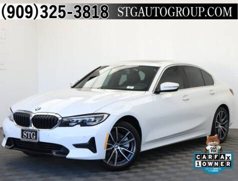 2019 BMW 3 Series 330i for sale at STG Auto Group in Montclair CA