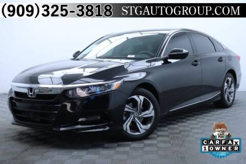 2018 Honda Accord EX for sale at STG Auto Group in Montclair CA