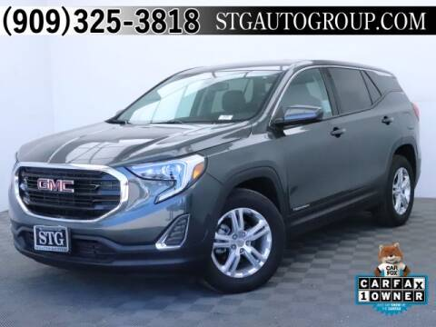2019 GMC Terrain for sale at STG Auto Group in Montclair CA