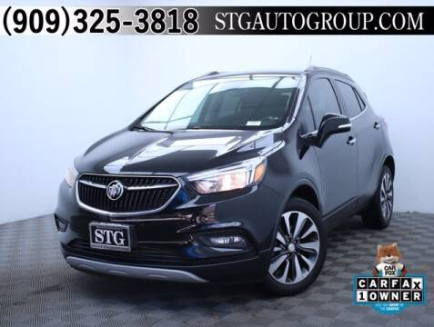 2018 Buick Encore for sale at STG Auto Group in Montclair CA
