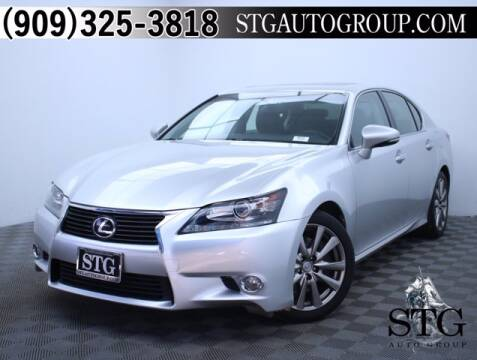 2015 Lexus GS 350 for sale at STG Auto Group in Montclair CA