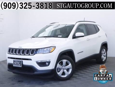 2017 Jeep Compass for sale at STG Auto Group in Montclair CA