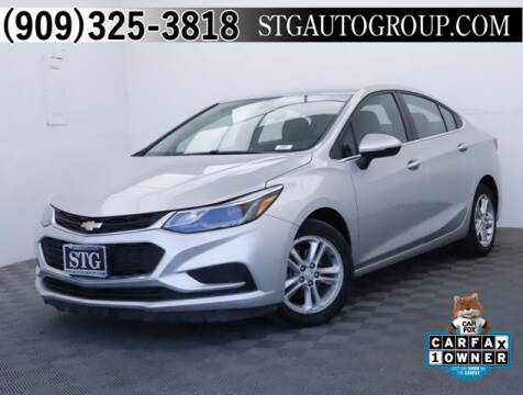 2017 Chevrolet Cruze for sale at STG Auto Group in Montclair CA