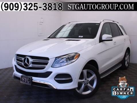 2017 Mercedes-Benz GLE for sale at STG Auto Group in Montclair CA