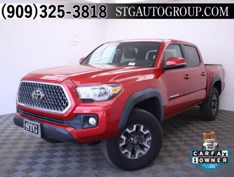 2019 Toyota Tacoma for sale at STG Auto Group in Montclair CA