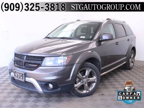 2017 Dodge Journey for sale at STG Auto Group in Montclair CA