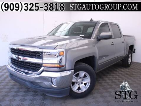 2017 Chevrolet Silverado 1500 for sale at STG Auto Group in Montclair CA