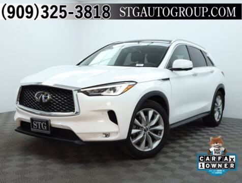 2019 Infiniti QX50 for sale at STG Auto Group in Montclair CA