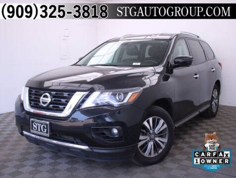 2019 Nissan Pathfinder for sale at STG Auto Group in Montclair CA
