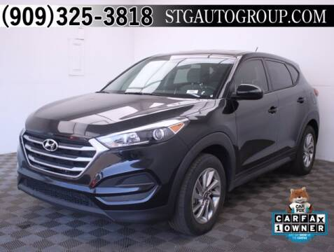 2018 Hyundai Tucson for sale at STG Auto Group in Montclair CA