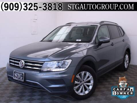 2019 Volkswagen Tiguan for sale at STG Auto Group in Montclair CA
