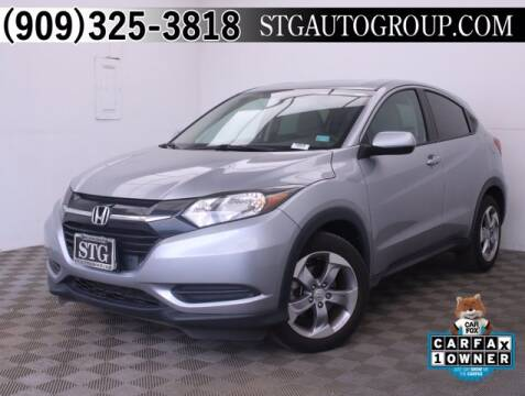 2018 Honda HR-V for sale at STG Auto Group in Montclair CA