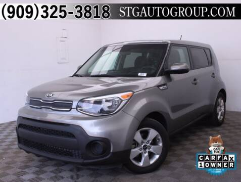 2017 Kia Soul for sale at STG Auto Group in Montclair CA