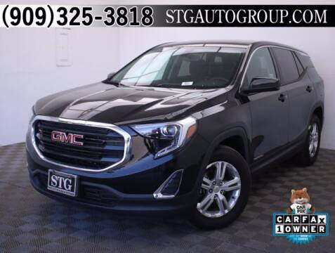 2018 GMC Terrain for sale at STG Auto Group in Montclair CA