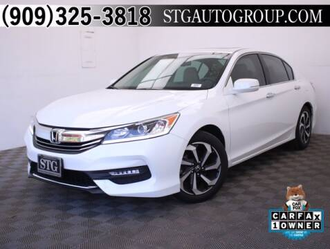 2017 Honda Accord for sale at STG Auto Group in Montclair CA