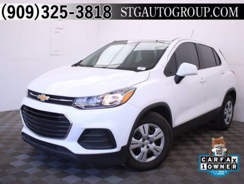 2019 Chevrolet Trax for sale at STG Auto Group in Montclair CA