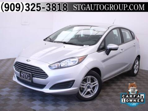 2019 Ford Fiesta for sale at STG Auto Group in Montclair CA