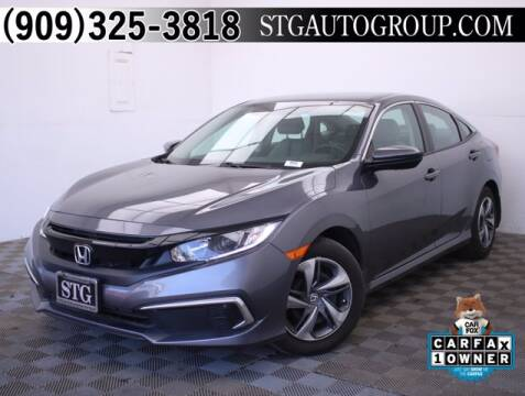 2019 Honda Civic for sale at STG Auto Group in Montclair CA