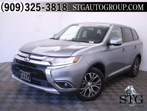 2017 Mitsubishi Outlander for sale at STG Auto Group in Montclair CA