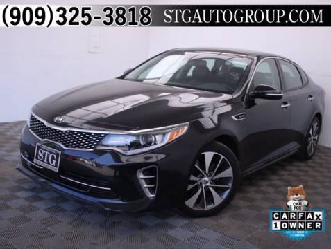 2016 Kia Optima for sale at STG Auto Group in Montclair CA
