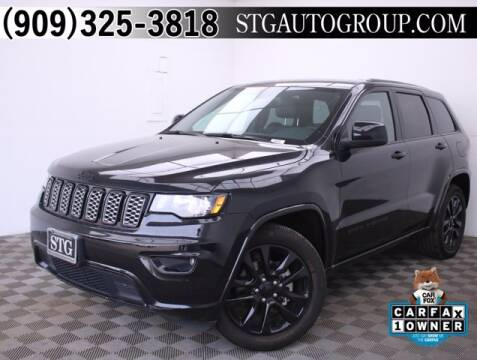 2017 Jeep Grand Cherokee for sale at STG Auto Group in Montclair CA