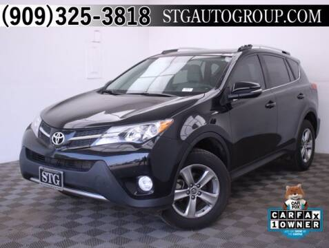2015 Toyota RAV4 for sale at STG Auto Group in Montclair CA