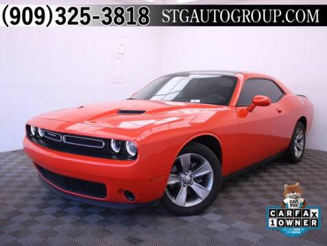 2018 Dodge Challenger for sale at STG Auto Group in Montclair CA