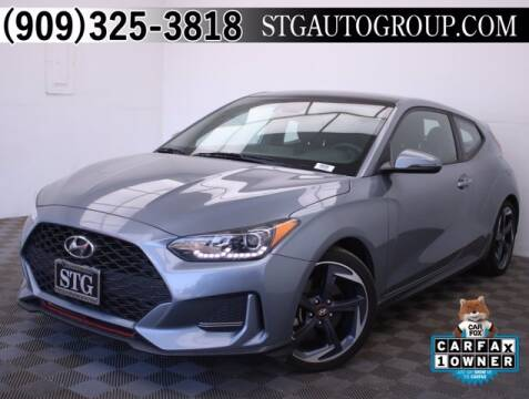 2019 Hyundai Veloster for sale at STG Auto Group in Montclair CA