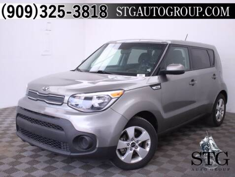 2018 Kia Soul for sale at STG Auto Group in Montclair CA