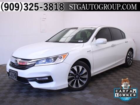 2017 Honda Accord Hybrid for sale at STG Auto Group in Montclair CA