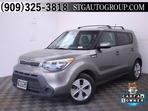 2015 Kia Soul for sale at STG Auto Group in Montclair CA