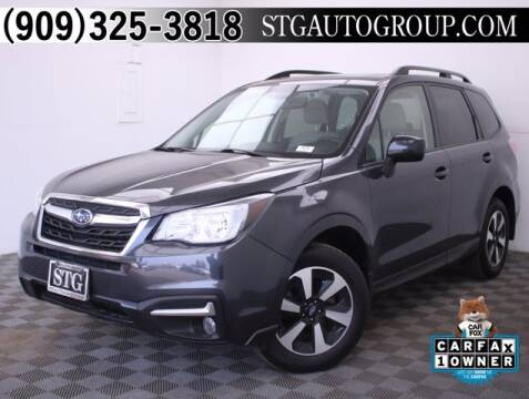 2017 Subaru Forester for sale at STG Auto Group in Montclair CA
