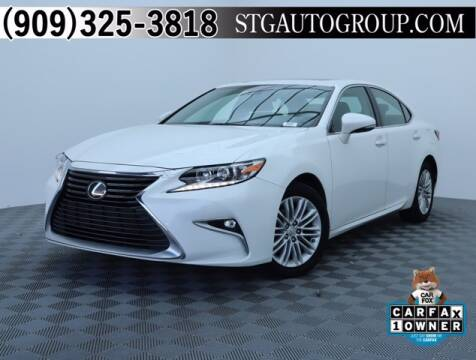 2017 Lexus ES 350 for sale at STG Auto Group in Montclair CA