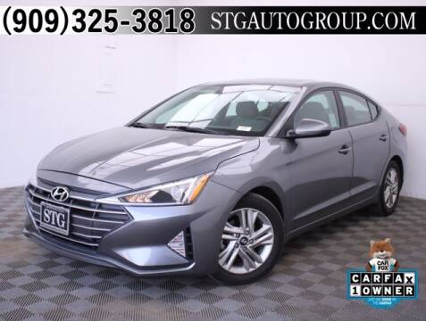 2019 Hyundai Elantra for sale at STG Auto Group in Montclair CA