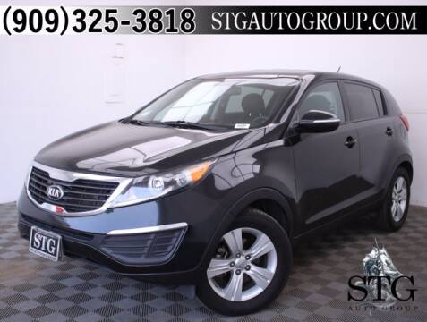 2013 Kia Sportage for sale at STG Auto Group in Montclair CA