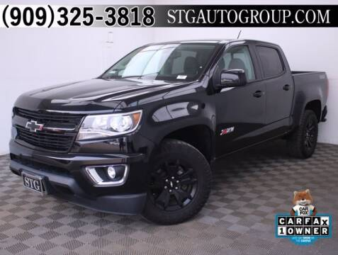 2017 Chevrolet Colorado for sale at STG Auto Group in Montclair CA