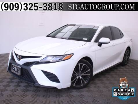 2018 Toyota Camry for sale at STG Auto Group in Montclair CA