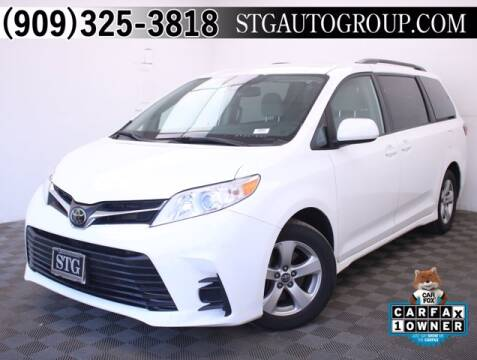 2019 Toyota Sienna for sale at STG Auto Group in Montclair CA