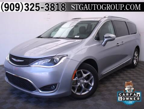 2018 Chrysler Pacifica for sale at STG Auto Group in Montclair CA