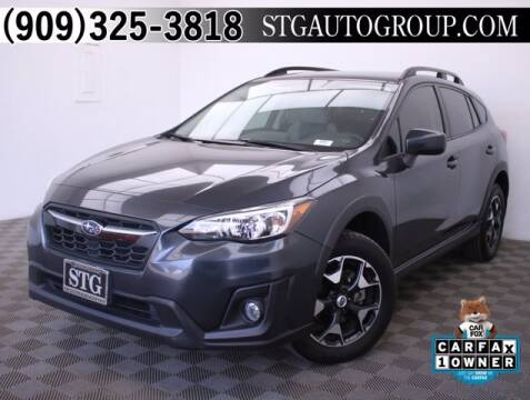 2018 Subaru Crosstrek for sale at STG Auto Group in Montclair CA
