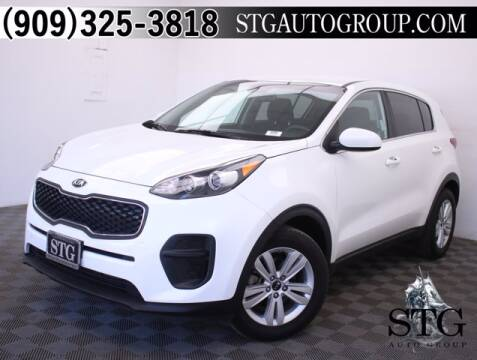 2019 Kia Sportage for sale at STG Auto Group in Montclair CA